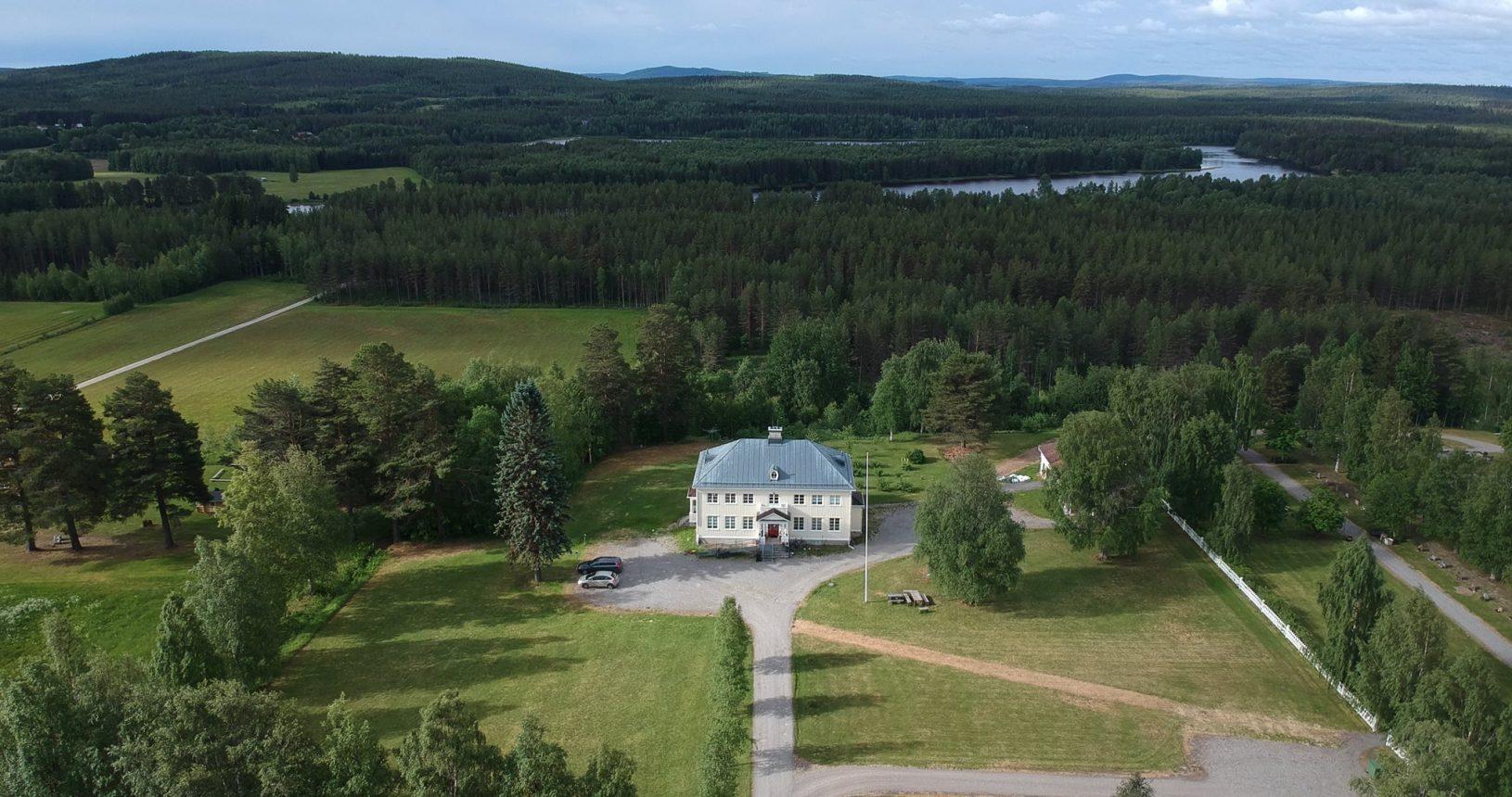 Villa Lillegård från ovan